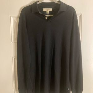 Tommy Bahama silk polo shirt